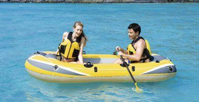 Barca hinchable barata-chollo amazon
